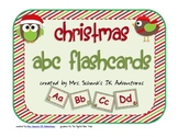 Christmas ABC Flashcards