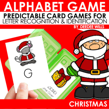 Christmas ABC Game ~ editable