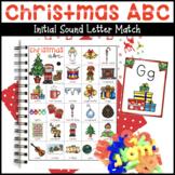 Christmas ABC Letter Sound Activity