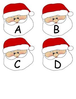 Christmas ABC Match Up