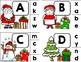 Christmas ABC Match-Up - Christmas Letter Matching Pocket