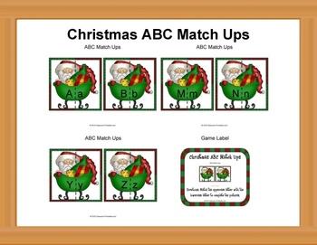 Christmas ABC Match Ups