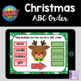 Christmas ABC Order Boom Cards