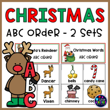 Christmas ABC Order Center