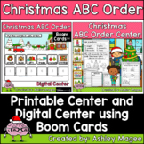 Christmas ABC Order Center - Printable and Digital or Dist