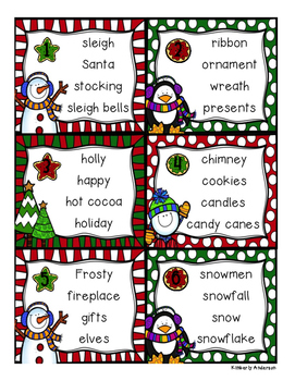 Christmas ABC Order Practice