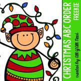 Christmas ABC Order {freebie}