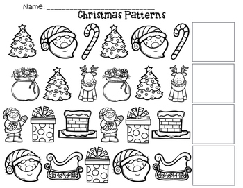 Christmas ABC Patterns