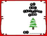 Christmas ABC Poem Book
