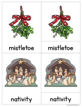Christmas: ABC and Word Wall