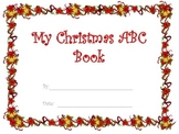 Christmas ABC book fill in the blanks