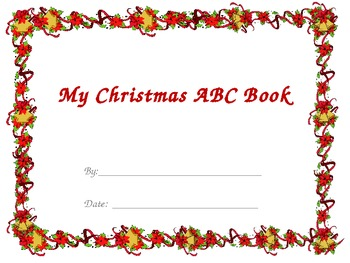 Christmas ABC book poem