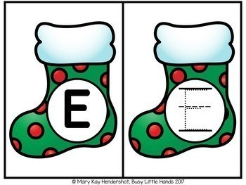 Christmas ABC centers
