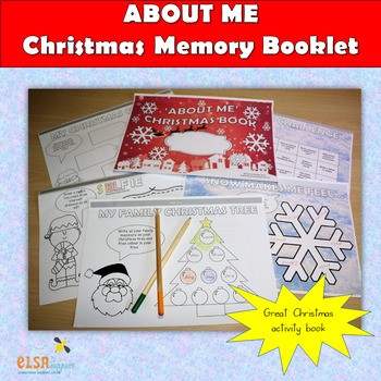 Christmas 'ABOUT ME' Memory Booklet