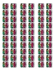 Christmas ATW Scrapbook Passport Stamps