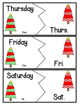 Christmas Abbreviations