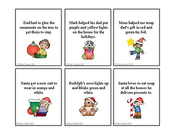 Christmas Absurd Sentences - identifying what is wrong in a sentence!