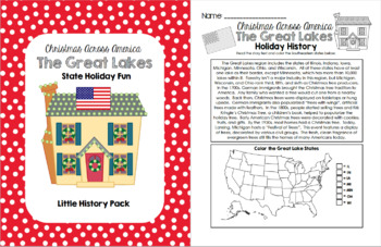 Christmas Across America - The Great Lake States Holiday Fun Pack
