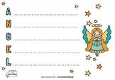 Christmas Acrostic Poem Templates