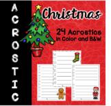 Christmas Acrostic Poems