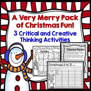 Christmas Activities!