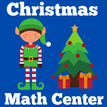 Christmas Math Center | Kindergarten Christmas Center | Christmas Math Activity