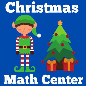 Christmas Math Center   Kindergarten Christmas Center   Christmas Math Activity