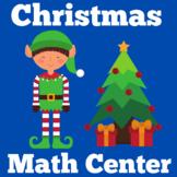 Christmas Math Center Kindergarten