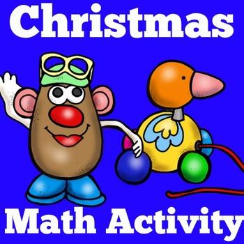 Christmas Math Center | Kindergarten Christmas Center | Christmas Math Activity