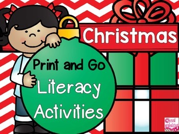 Print and GO Christmas Activities