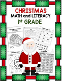 1st Grade Christmas Activities ~ Christmas Activities for First Grade
