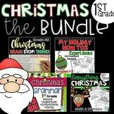 Christmas Activities 1st Grade BUNDLE ~ 1st Grade Christmas Math and Literacy