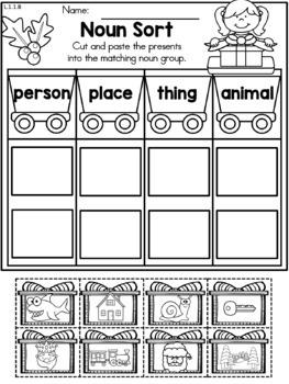 Christmas Activities (1st Grade Bundle)