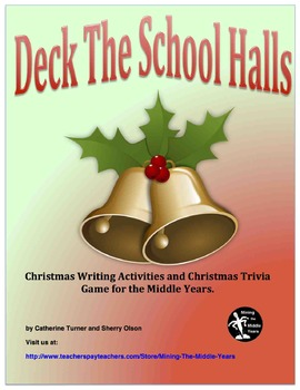 Christmas  Activities - Projects, Writing, Art and a Game