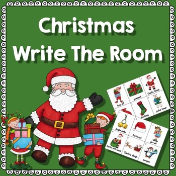 Christmas Activities-Write The Room