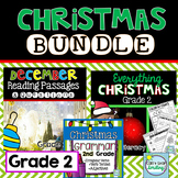 Christmas 2nd Grade ~ Christmas Activities Reading, Grammar and Math