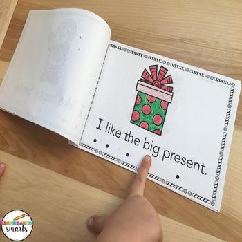 Christmas Sight Word Books