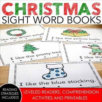 Christmas Sight Word Books