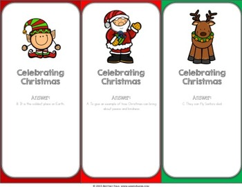 Christmas Activities: A Christmas Reading Game