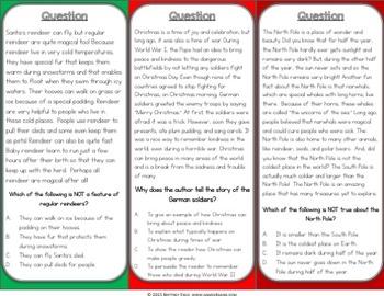 Christmas Activities: A Christmas Reading Game