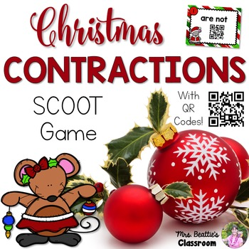 Christmas Contractions Activities
