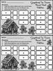 Christmas Activities: Gingerbread Men Christmas Ten Frames Math Center Activity