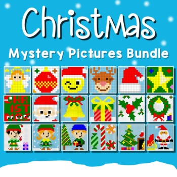 Christmas Coloring Pages - Christmas Color by Number Activity