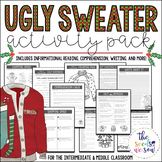 Ugly Sweater: Christmas Activity Pack