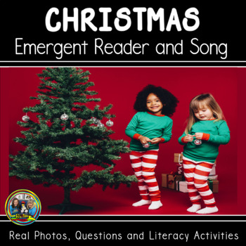 Christmas Around the World -Interactive Christmas Vocabulary Book and Song