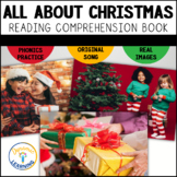 Christmas Vocabulary Book and Comprehension Questions
