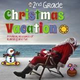 Christmas Activities 2nd Grade: Games Printables Math ELA  & More