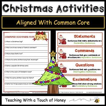 Christmas Activities | Christmas Worksheets | Christmas Writing