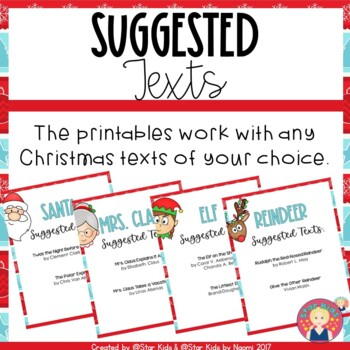 Christmas ELA and Math Activities
