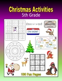 Christmas Activities (5th Grade)
